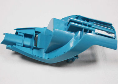 Blue Color Prototype Machined Parts Smooth Surface Treatment For Toys